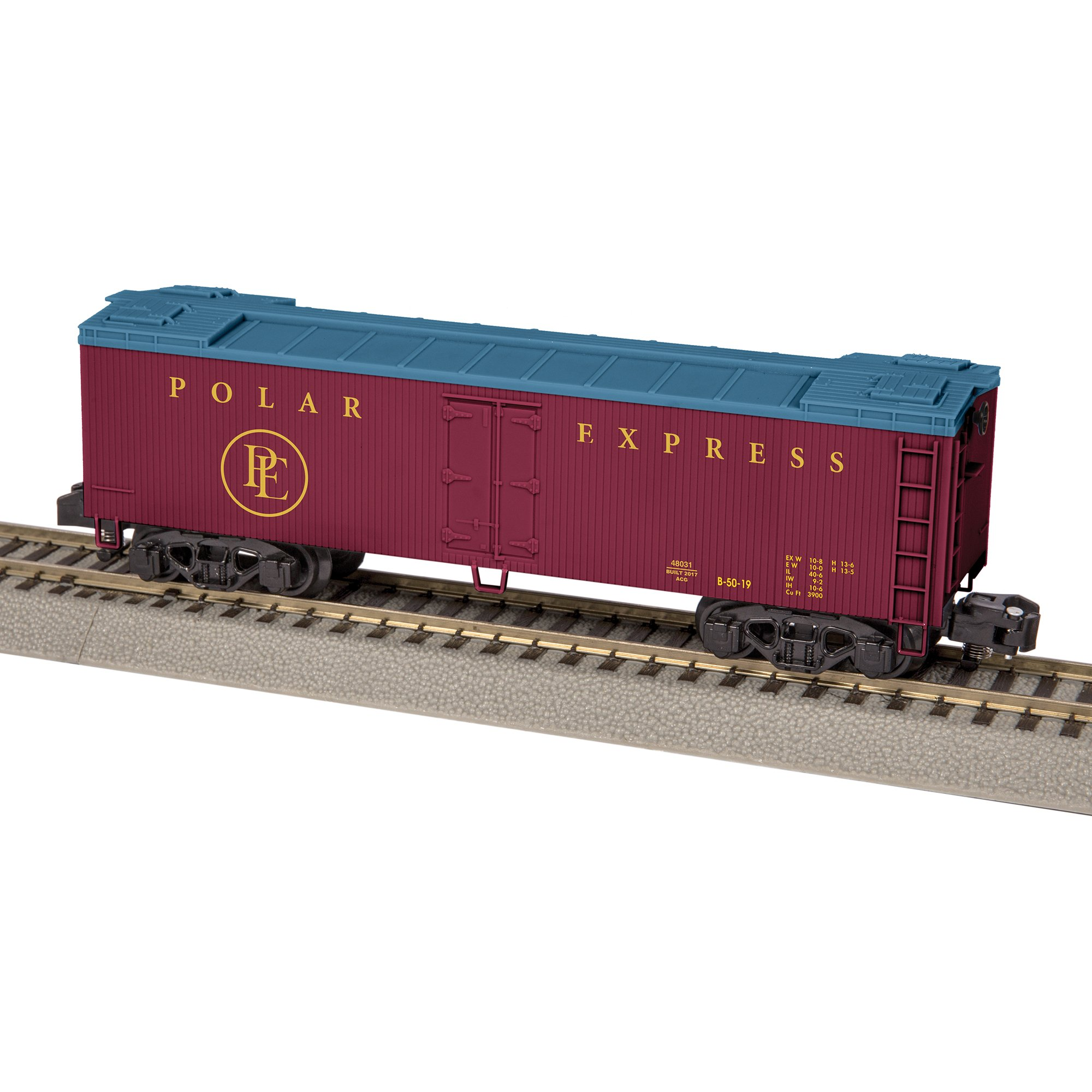 Lionel American Flyer Polar Express Wood Sided Reefer Train