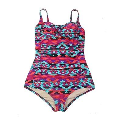 Laorchid Fashion Damen Badeanzug Push Up Einteiler Figuroptimizer Bademode   Amazon.de  Bekleidung 6753fee2e8