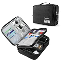 Deals on Topbooc Universal Electronics Accessories Organizer