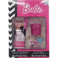 Air-Val Barbie For Children - Eau De Toilette Perfume, 30 ml + Shower Gel, 70 ml Set