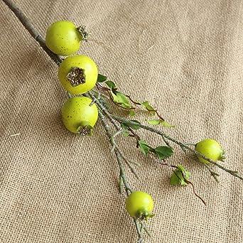 Ramo de púas artificiales de granada para frutas y rizomo ...