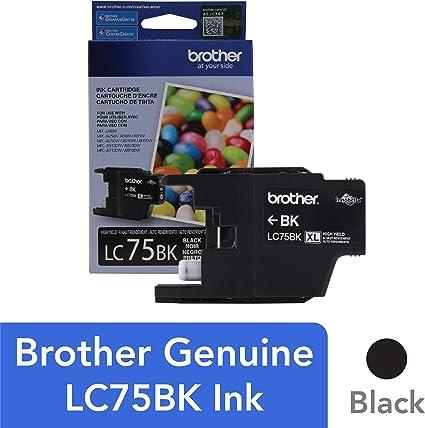 Amazon.com: Brother LC75 Juego de cartuchos de tinta de alto ...