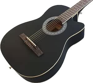 Juego de guitarra acústica para principiante, cuerdas de acero ...