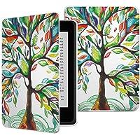 Capa para Kindle Paperwhite - Várias Estampas - Base Branca (Árvore da Vida)