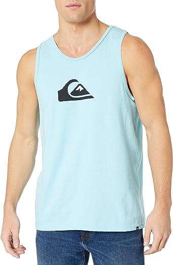 Quiksilver Herren COMP Logo Tee Hemd, Gulf Stream, XX Large