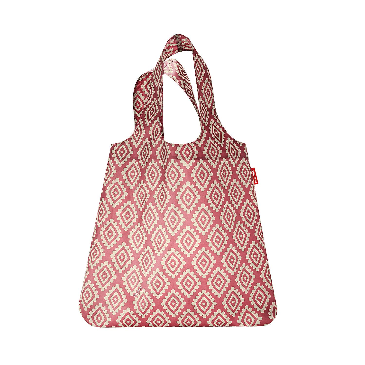 Reisenthel Mini Maxi Shopper Bolso Bandolera, 60 cm, 15 Liters, Marró n (Diamonds Mocha) Marrón (Diamonds Mocha) AT6039