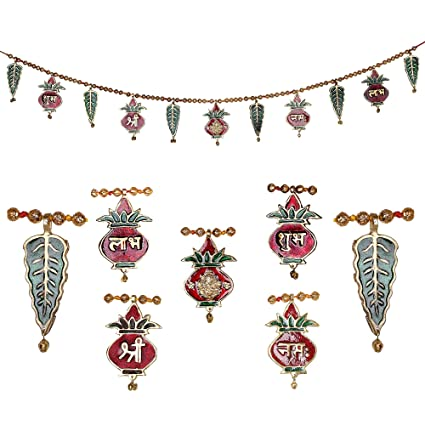 Jaipuri haat Metal Superior Quality Decorative Ethnic Bandarwal Toran Door Hangings  sc 1 st  Amazon.in & Buy Jaipuri haat Metal Superior Quality Decorative Ethnic Bandarwal ...
