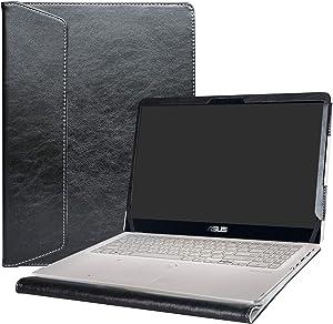 """Alapmk Protective Case Cover for 15.6"""" Asus Q525UA Q505UA Q535UD & ZenBook Flip 15 UX561UD UX561UN & VivoBook Flip 15 TP510UA TP510UQ Laptop(Warning:Not fit Asus Q534UX Q504UA Q524UQ),Black"""