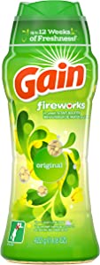 Gain Fireworks In-Wash Scent Booster Beads, Original, 14.8 oz