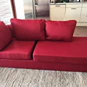 Peachy Nhi Express Landon Reversible Sectional Sofa Red Ibusinesslaw Wood Chair Design Ideas Ibusinesslaworg