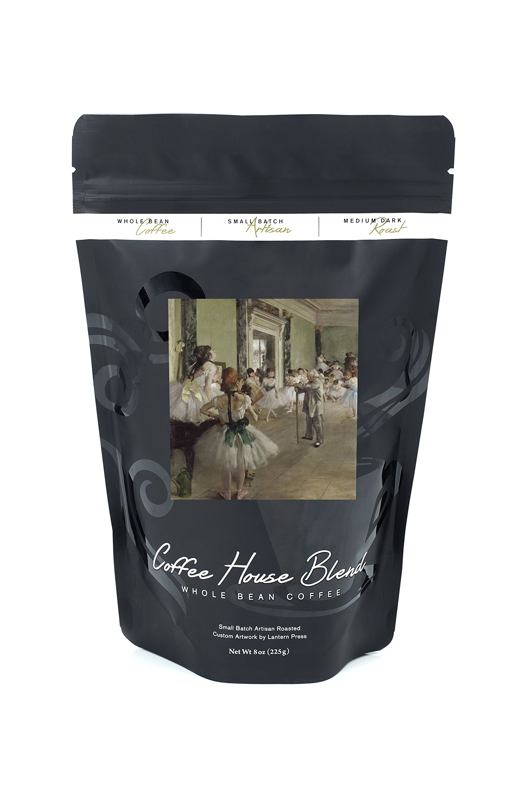The Dance Class (Artist: Edgar Degas) c. 1873 - Masterpiece Classic (8oz Whole Bean Small Batch Artisan Coffee - Bold & Strong Medium Dark Roast w/ Artwork)