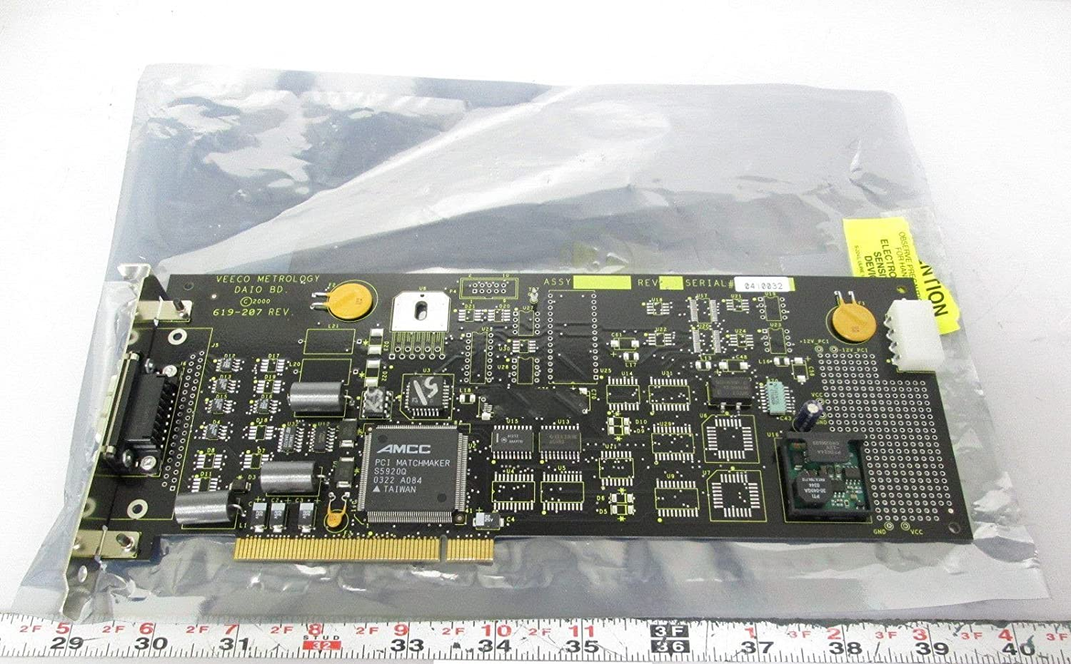 Veeco Metrology 619-207 DAIO Board for LED Lighting PCI Interface: Amazon.com: Industrial & Scientific