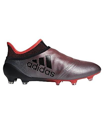 check out faa8b ed477 adidas X 17+ FG, Chaussures de Football américain Homme, Gris (Grey