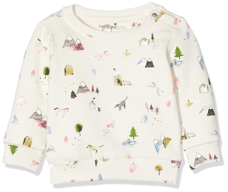 Noppies Baby-M/ädchen G Sweat Ls Canfield AOP Sweatshirt
