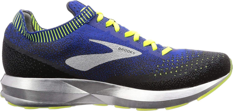 Brooks Mens Levitate 2 Running Shoe Black / Blue / Nightlife