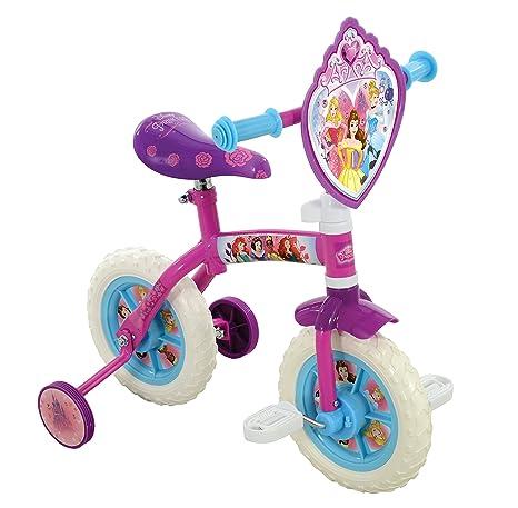 2a9acdc79a3 Amazon.com: Disney Princess M14385 10-Inch 2-in-1 Training Bike ...