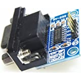 uxcell® MAX232CSE Transfer Chip RS232 To TTL Converter Module COM Serial Board