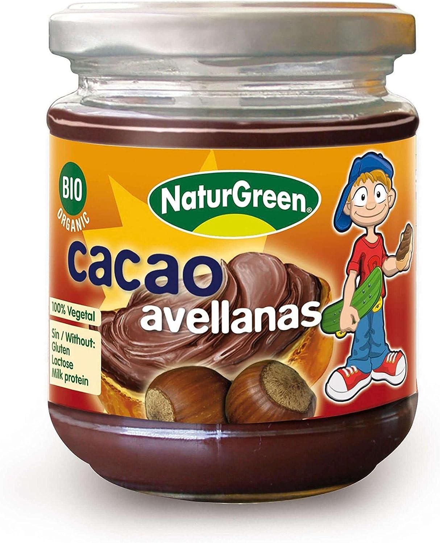 Crema de Avellana de Cacao Bio 200 gr de Naturgreen: Amazon.es: Hogar