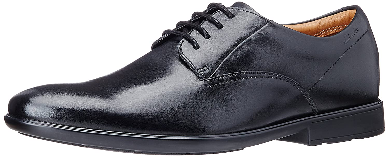 Clarks Gosworth Walk, Derby Homme Chaussures de ville homme - Noir (Black) 46 EU (11 UK) 261096977 26109697_11_Noir