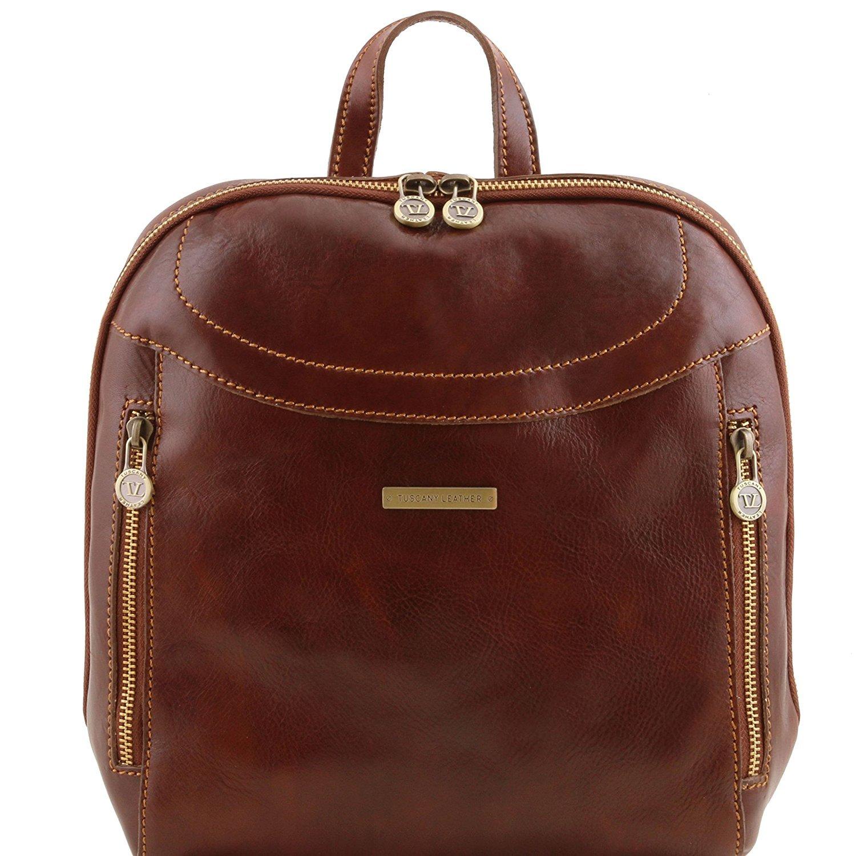 Tuscany Leather Manila - Rucksack aus Leder - TL141557 (Braun)