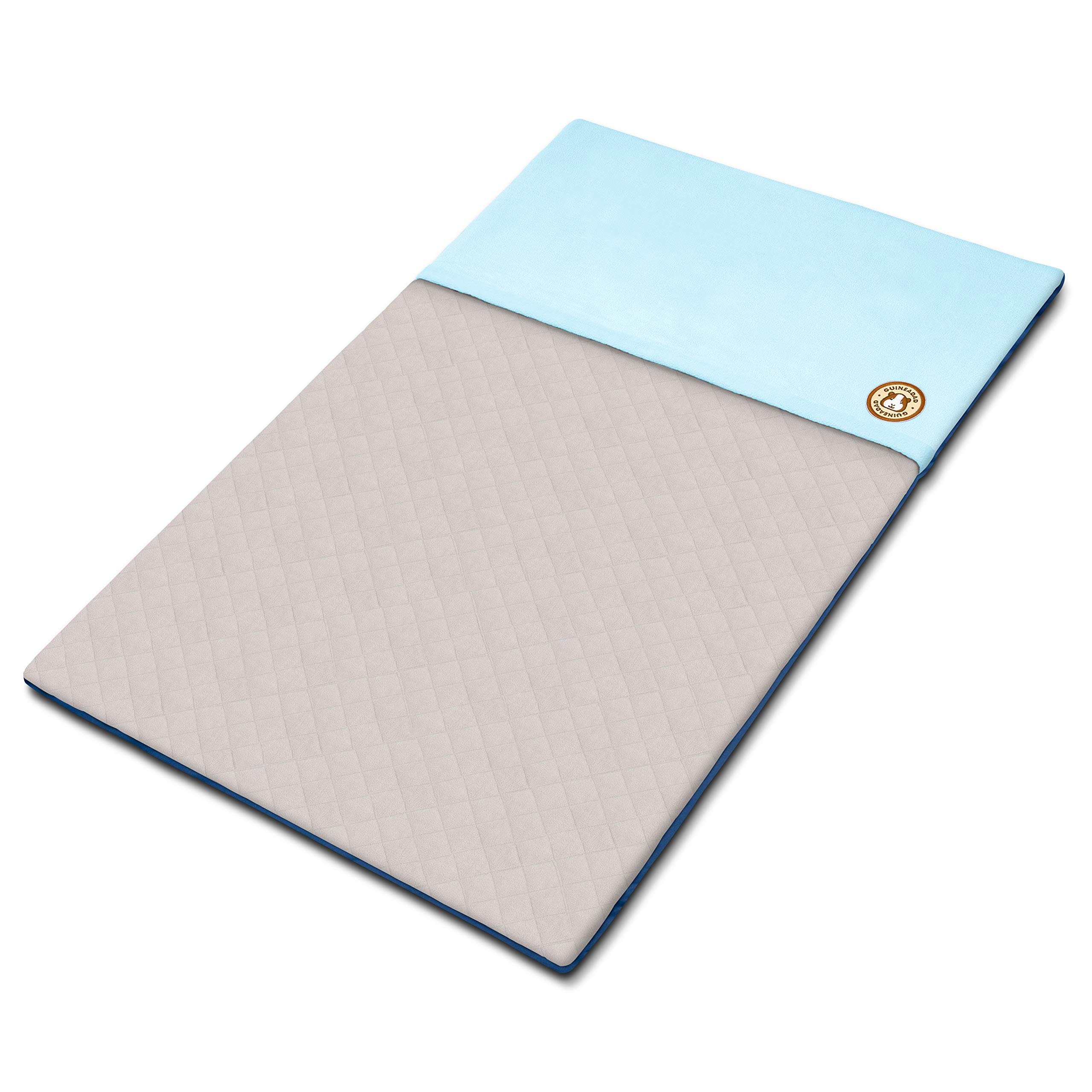 GuineaDad Fleece Liner 2.0 | Guinea Pig Fleece Cage Liners | Guinea Pig Bedding | Burrowing Pocket Sleeve | Absorbent Antibacterial Bamboo | Waterproof | Available Various Cage Sizes