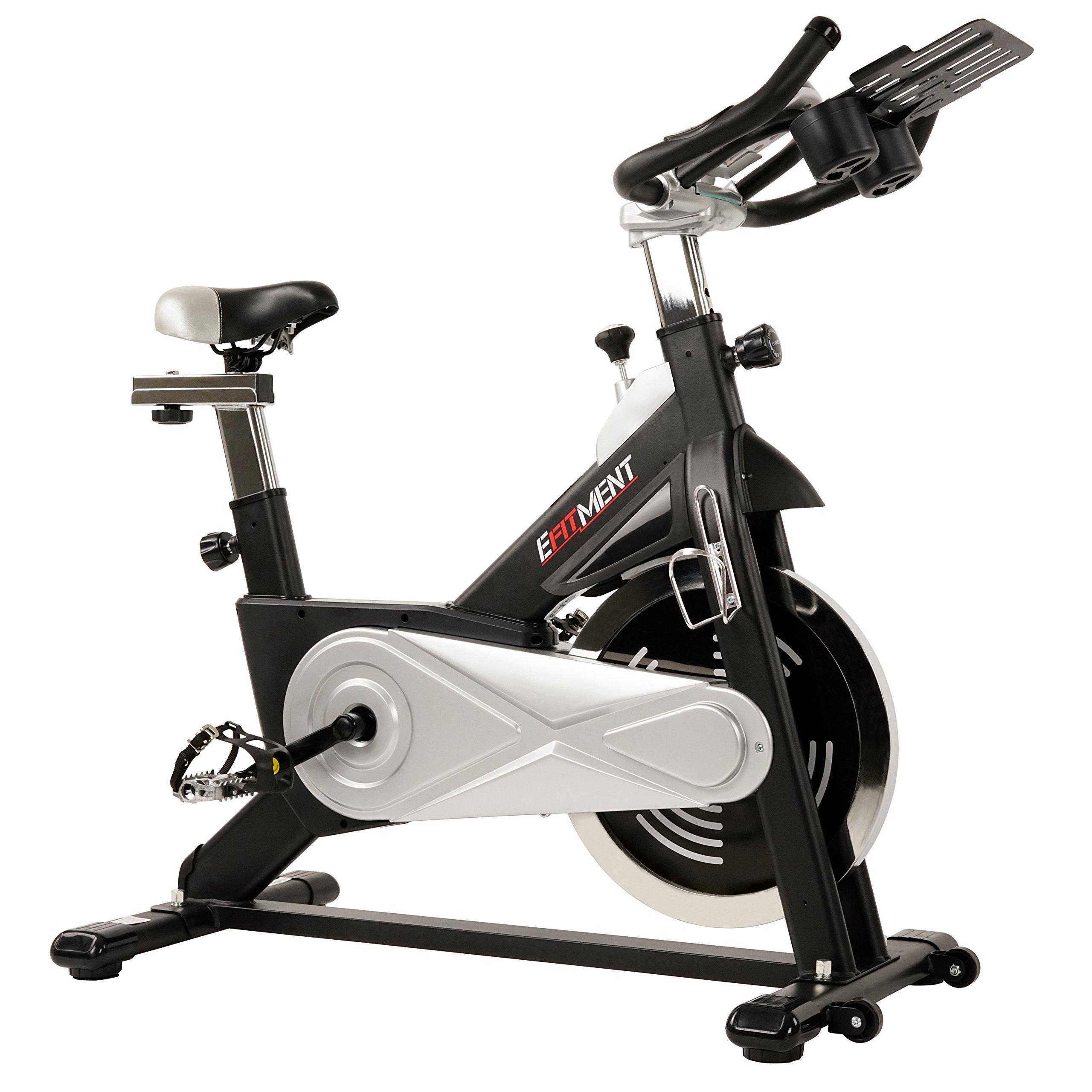 EFITMENT Indoor Cycling Exercise Bike w/ 40 lb Flywheel IC030