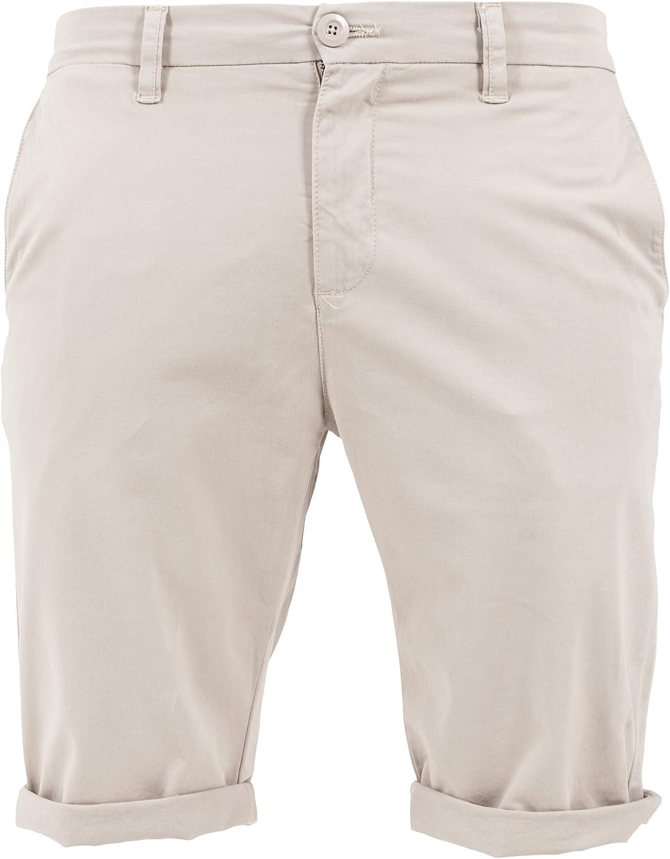 Urban Classics Mens Stretch Turnup Chino Shorts