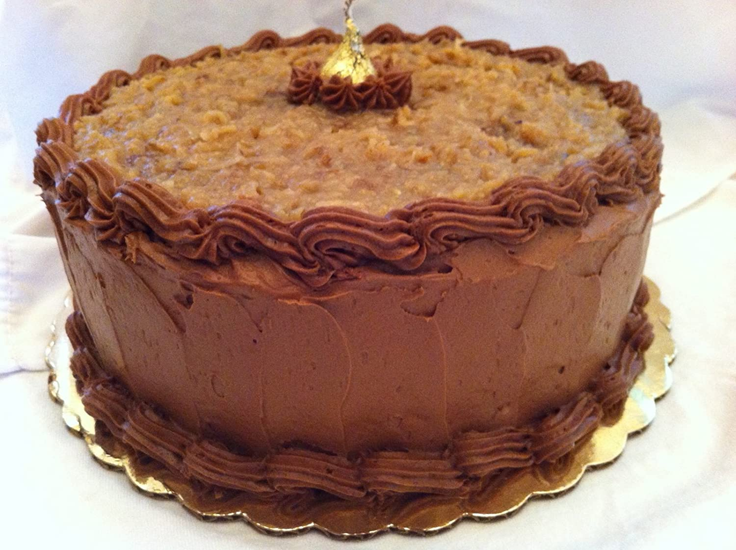 Gourmet German Chocolate Cake - From Scratch: Amazon.com: Grocery ...
