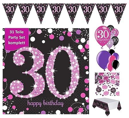 Fijo Decoración celebran para el 30 cumpleaños | completa 31 ...