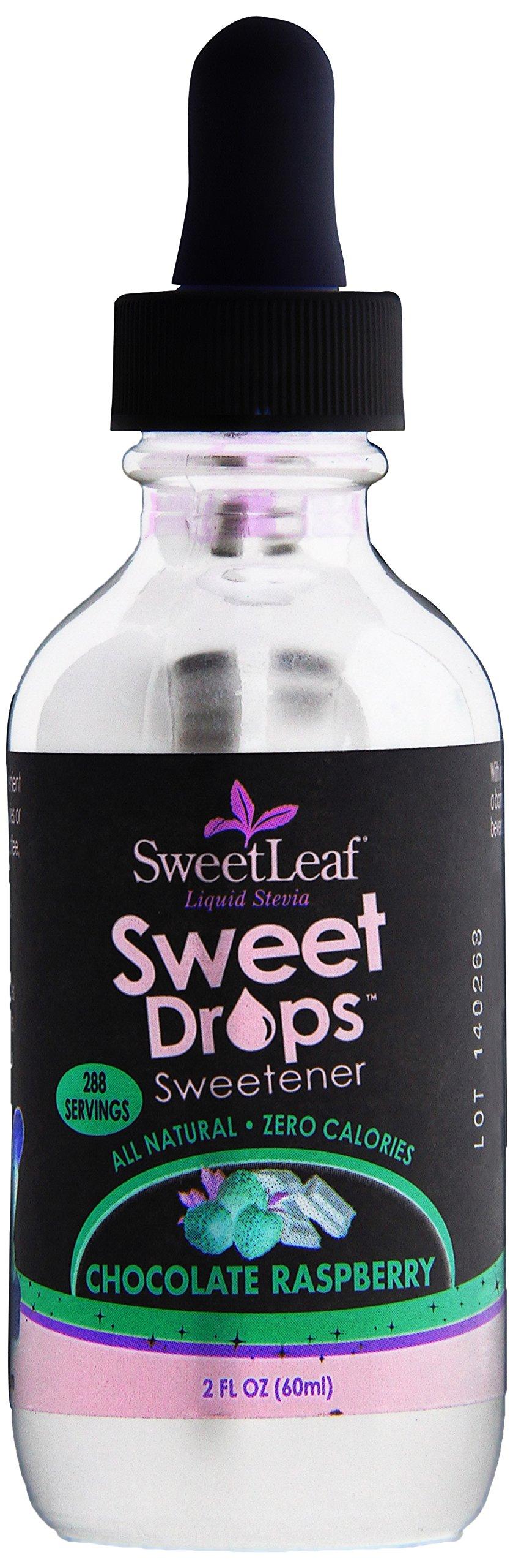 SweetLeaf Sweet Drops Liquid Stevia Sweetener, Chocolate Raspberry, 2 Ounce
