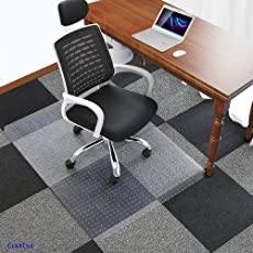 Office Chair Mat for Carpets Floors Heavy Duty Carpet Chair Mat For Low And Medium Pile & Chair Mats | Amazon.com | Office Furniture u0026 Lighting - Furniture ...