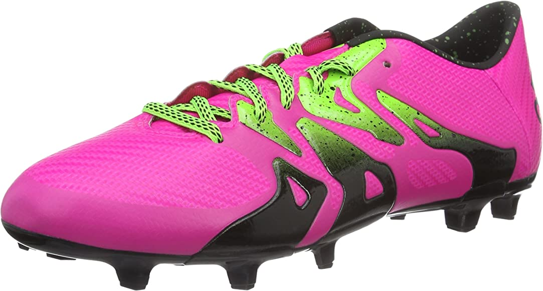 15.3 FG/AG Pink Mens Soccer Cleats