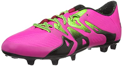 big sale da7d8 0e22d adidas X 15.3 FG AG Pink Mens Soccer Cleats, Size 9
