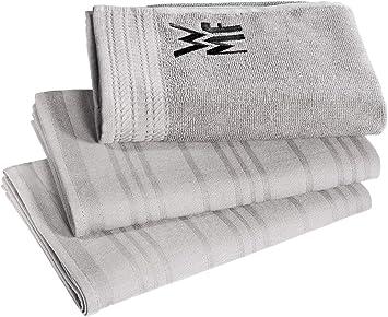 Wmf Küchenhandtuch Set 3 Teilig Handtuch Geschirrhandtuch Baumwolle Küche Haushalt