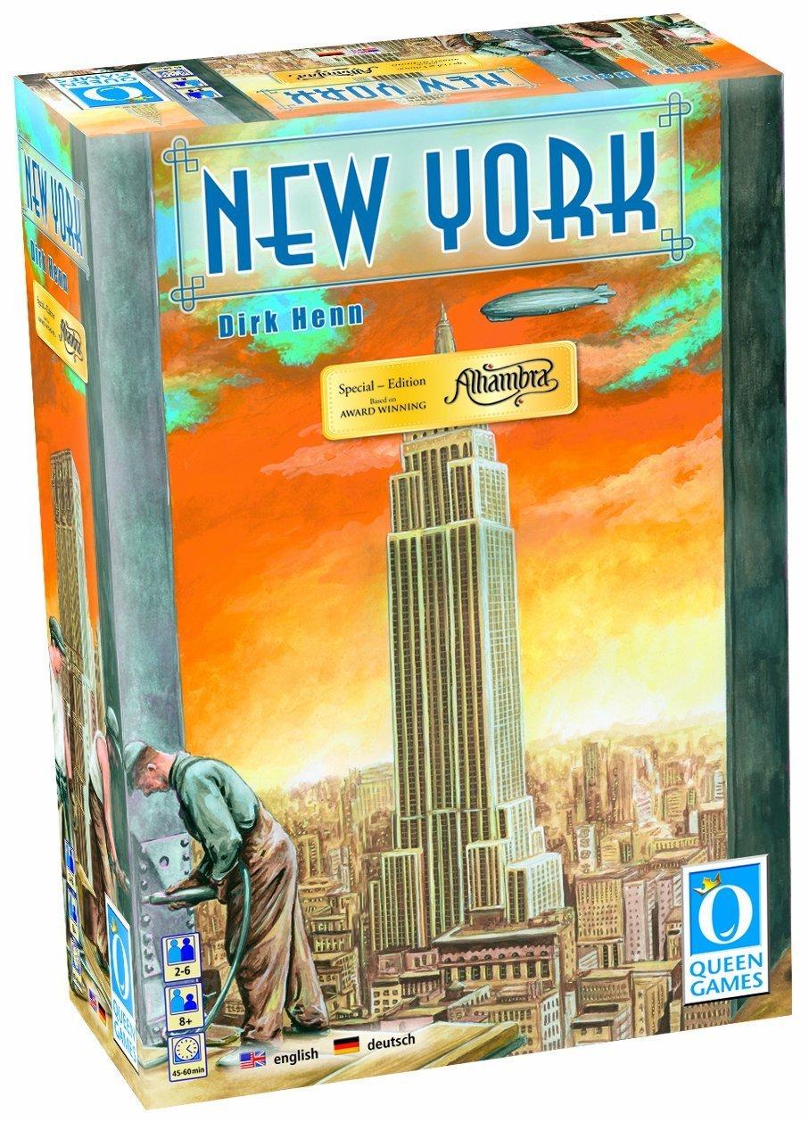 Queen Games - Alhambra - New York: Amazon.es: Juguetes y juegos