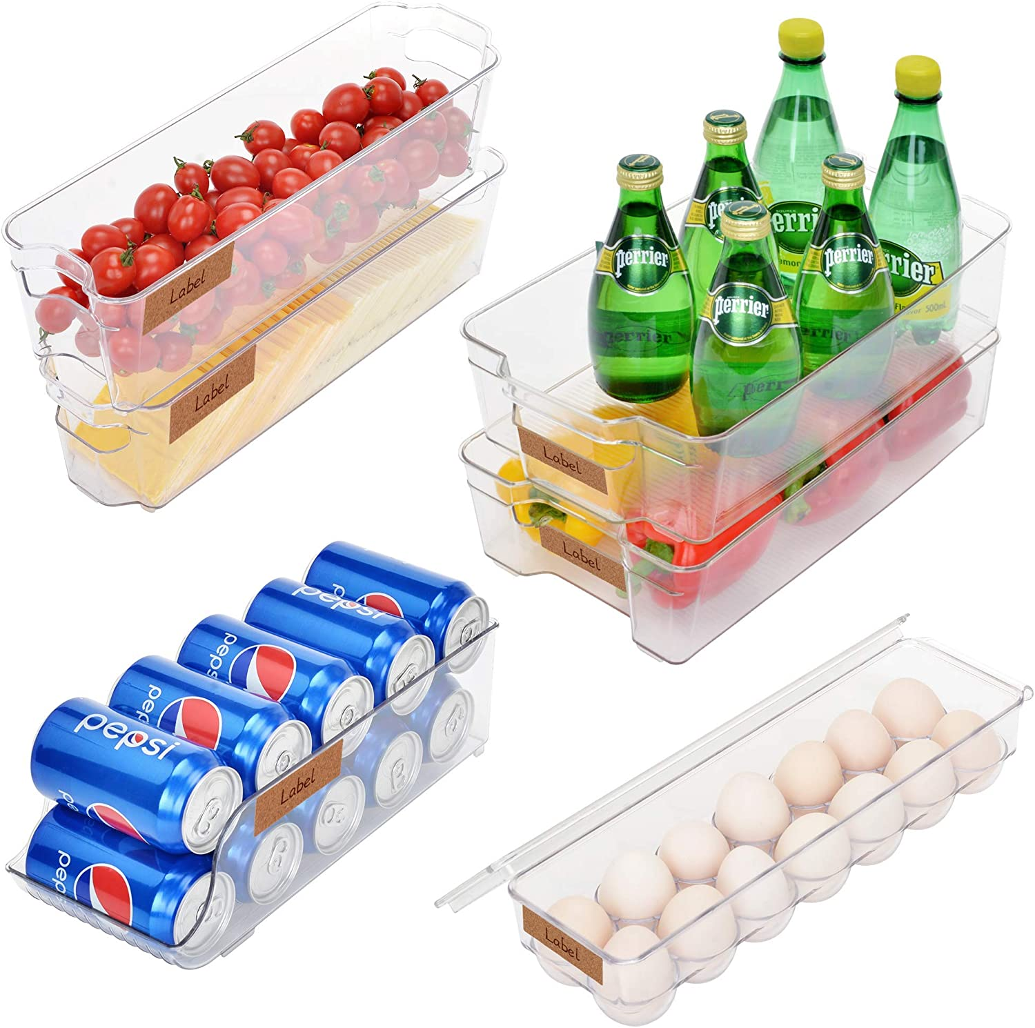 Amazon Promo Code for Stackable Refrigerator Bin Set