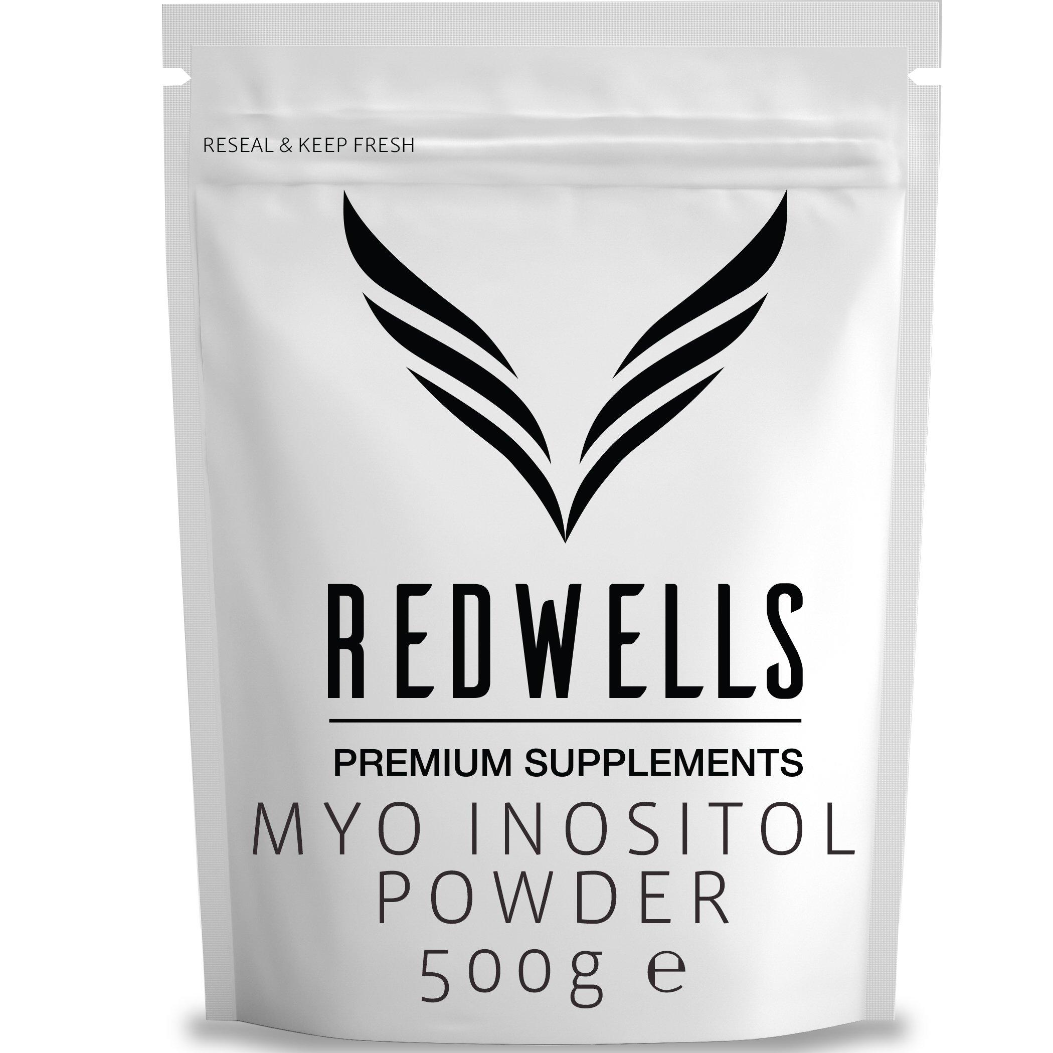 Pure Inositol Powder - 100g / 250g / 500g / 1kg - (500g) by Redwells Group
