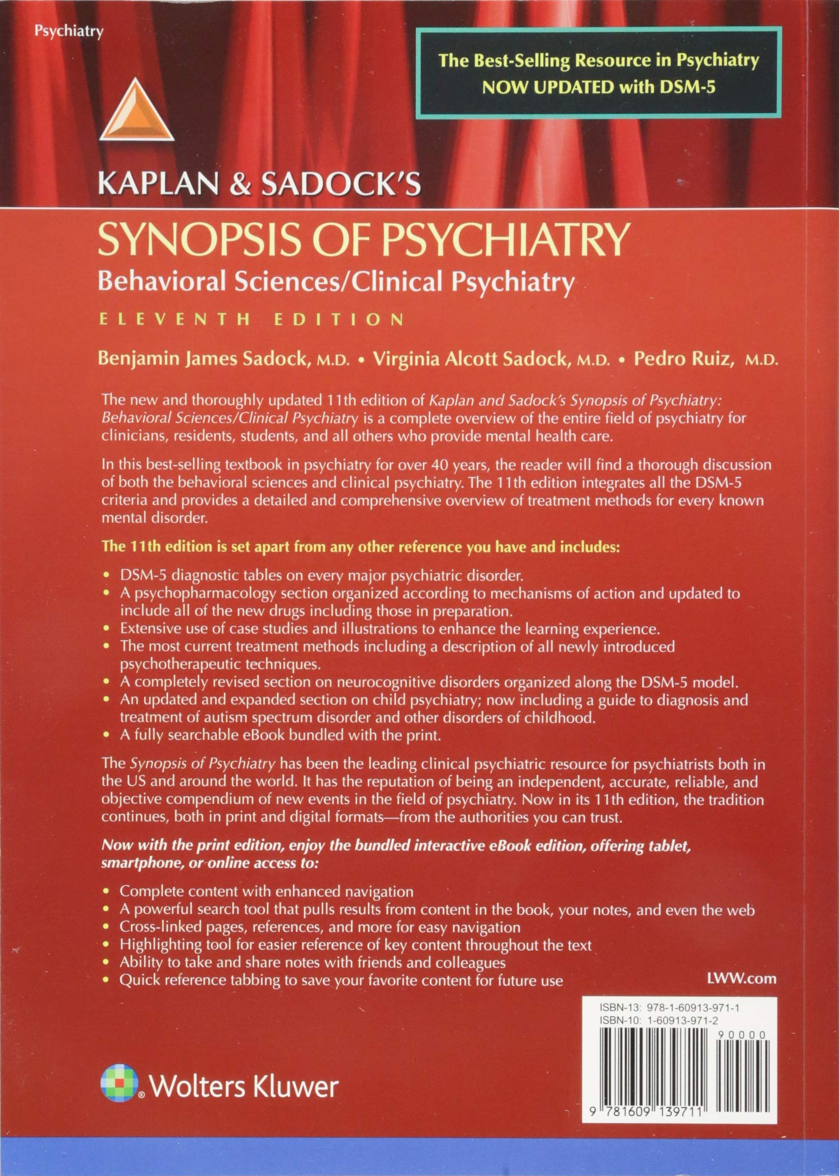 Kaplan And Sadocks Synopsis Of Psychiatry 11th Edition Pdf