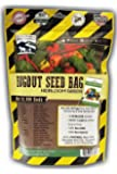 22,000+ Non GMO Heirloom Vegetable Seeds, Survival Garden, 34 Variety Pack, Grow 13,000 lbs of Food, Bugout Seed Bag - Emergency Seed Vault by Sustainable Seed