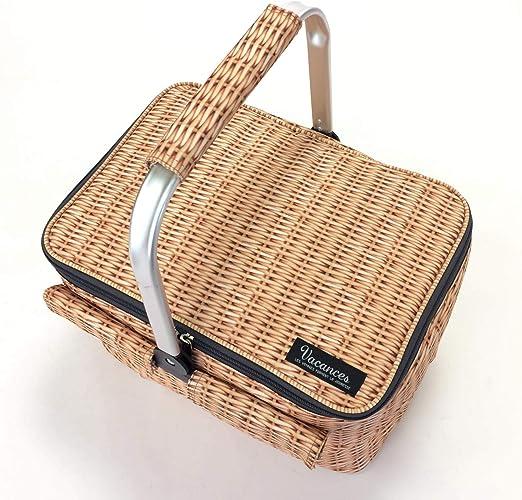 Picnic Basket Time Concept Thermo-Insulated Designer Picnic Accessory Panier