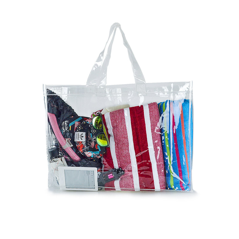 Estarer Travel Beach Bag Waterproof Swimming Security Shoulder Clear Tote Bag