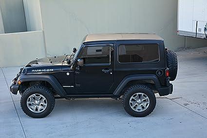 Amazon Com Jeep Hard Top Square Back Jk 2 Door 2 Piece For 07 16