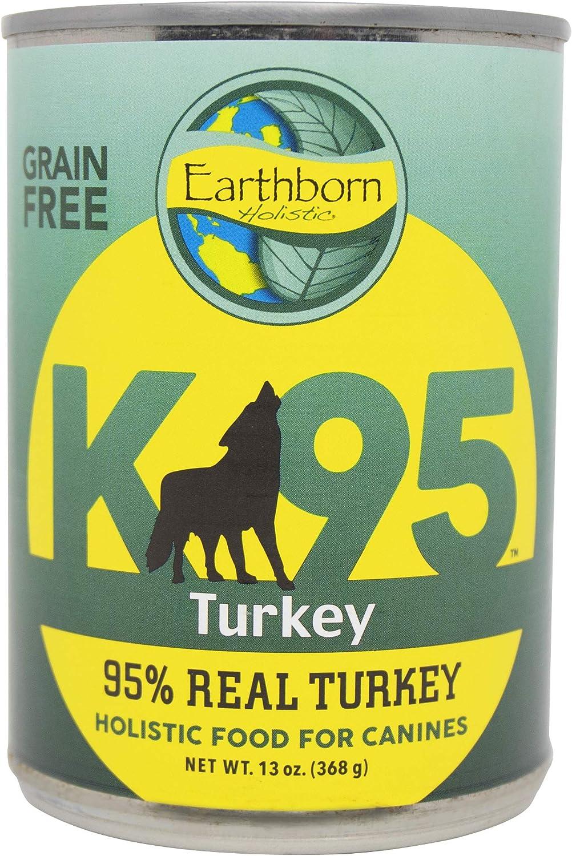 Earthborn Holistic K95 Turkey Recipe Grain-Free Canned Moist Dog Food