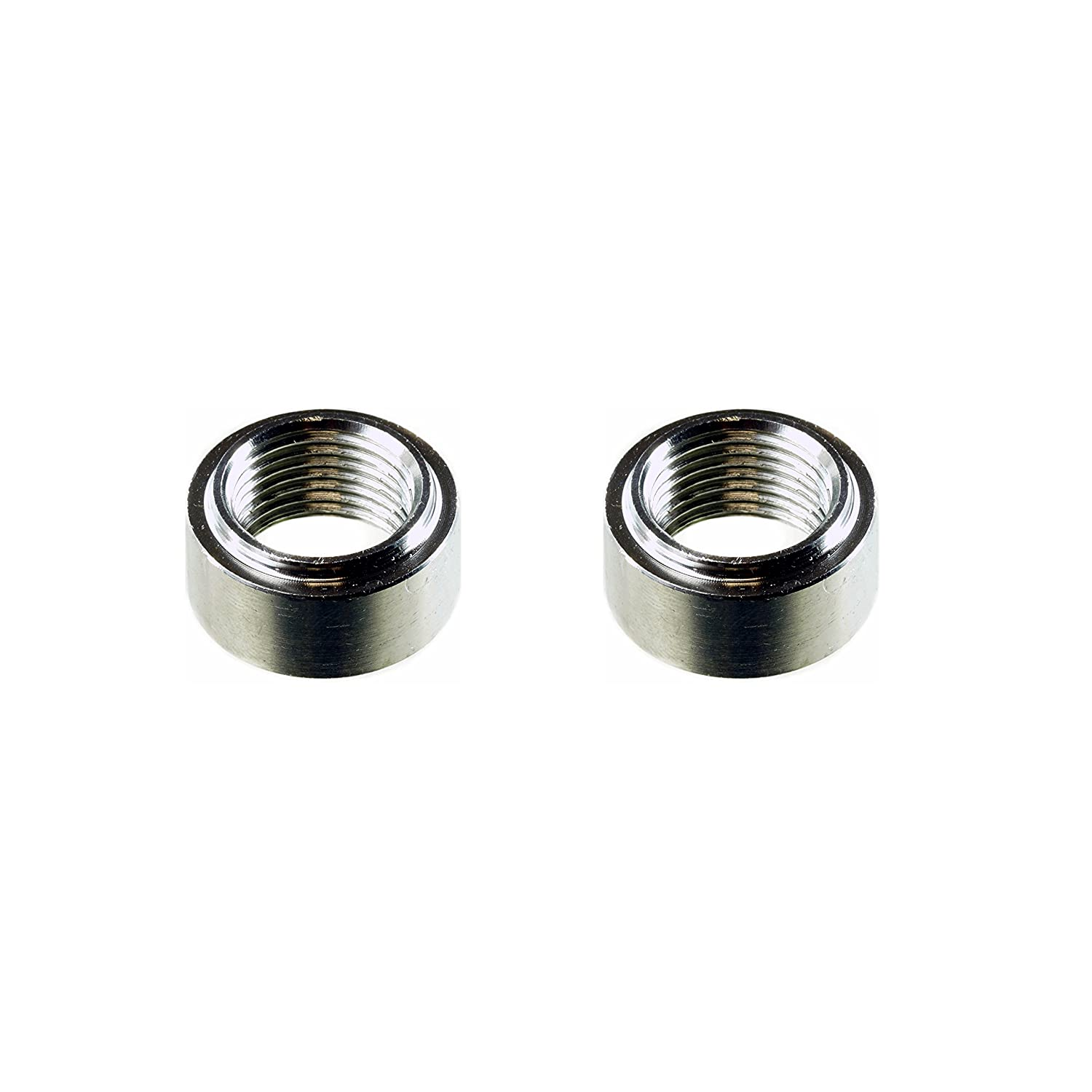 Standard - 2 Bungs, with Plug CarXX O2 Weld Bung Stainless Steel for Oxygen Sensor M18x1.5