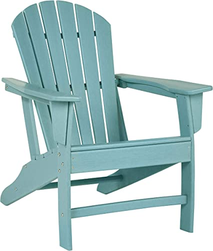 Signature Design by Ashley – Sundown Treasure Outdoor Adirondack Chair – Turquoise