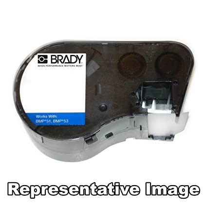 Brady MC-1500-595-OR-BK cinta para impresora de etiquetas ...