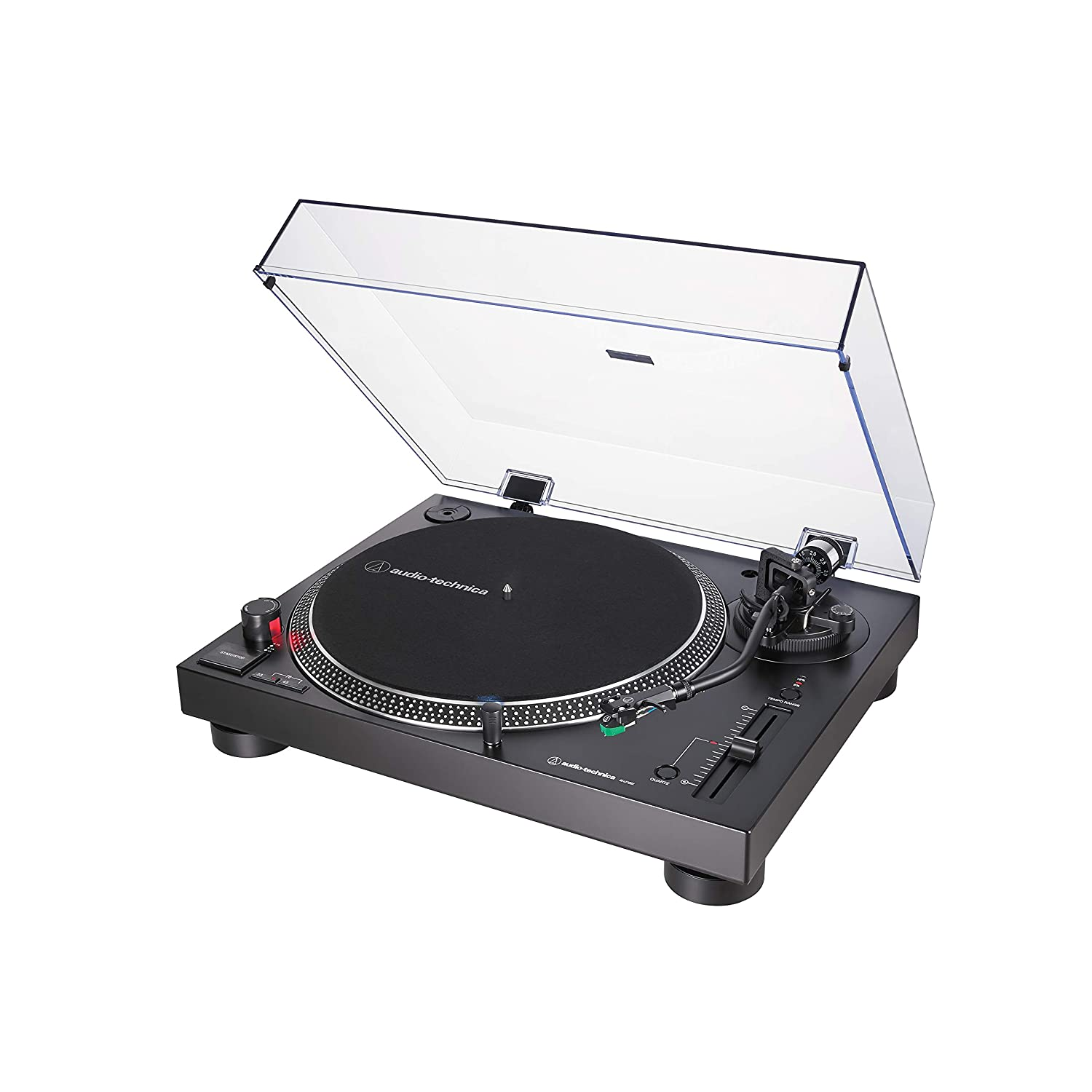 Audio-Technica AT-LP120X, Tocadiscos con USB Plug & Play, Negro