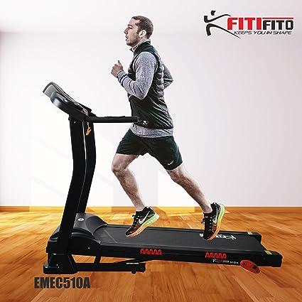 Cinta de correr fitifito 510 a Home 3PS 12 km/h, con pantalla LCD ...