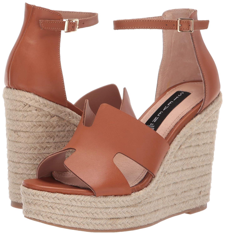84fc4d19de Amazon.com | STEVEN by Steve Madden Women's Sirena Espadrille Wedge Sandal  | Sandals