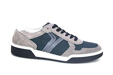 IGI&CO 3136400 Grigio Scarpa Uomo Sneakers Pelle Made in